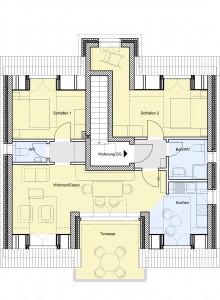 Wohnung im Dachgeschoss