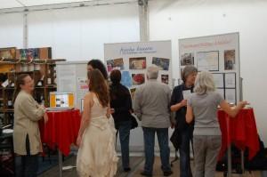 Christiane Feist präsentiert auf der Meldorf Messe 2012