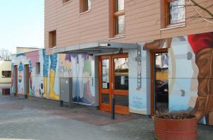 Eingang Bürgerhaus Lenzsiedlung