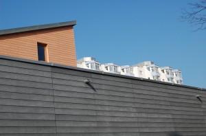 Bürgerhaus Lenzsiedlung Fassadenbekleidung
