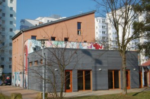 Neubau Bürgerhaus Parkseite