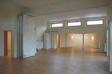 Blick in den Salon des Saals im Bürgerhaus Lenzsiedlung